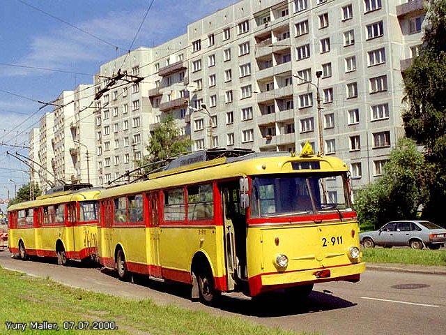 Rīgas Trolejbuss    Hronoloģija 1996 -2000
